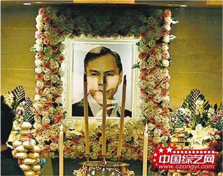 林岭东丧礼以私人形式闭门进行。